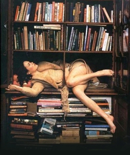 Library erotic photo phrase, matchless))), pleasant